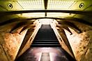 Treppe Einkaufspassage