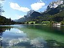 Hintersee bei Ramsau in Berchtesgaden